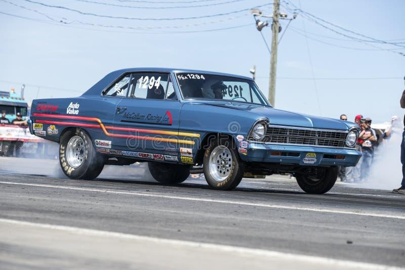 Burn-out de Chevrolet photos stock