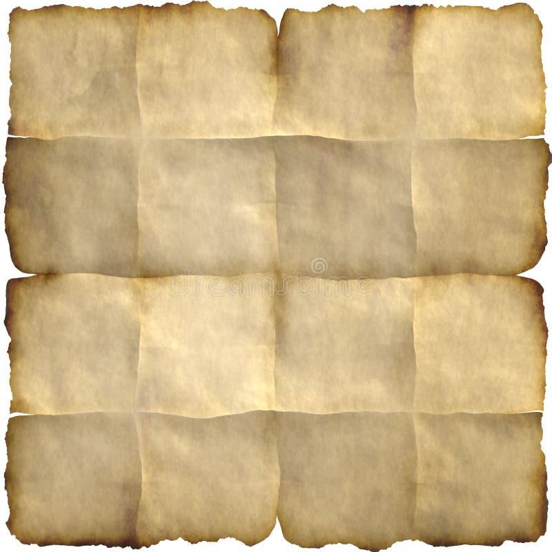Download Burn paper stock illustration. Image of grunge, border - 15499214