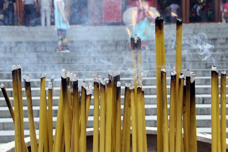 Download Burn sticks stock image. Image of paper, smoke, burn - 26393905