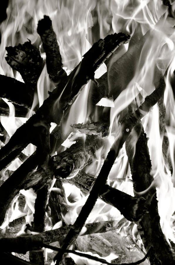 Burn stock image