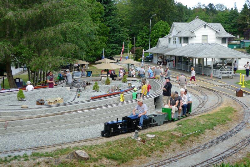 Mini Train Rides royalty free stock photography