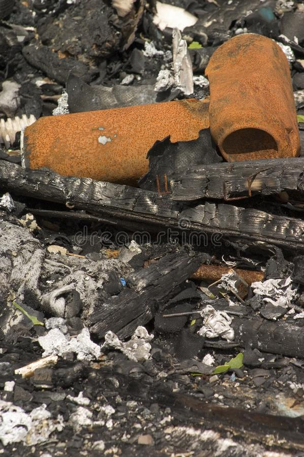 Download Burned cans stock photo. Image of aluminum, fire, accident - 818468
