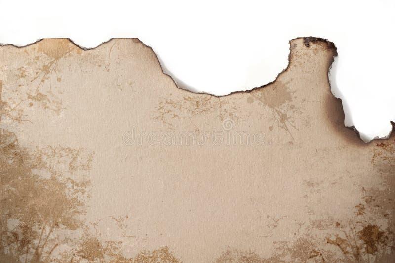 Burned edges royalty free stock images