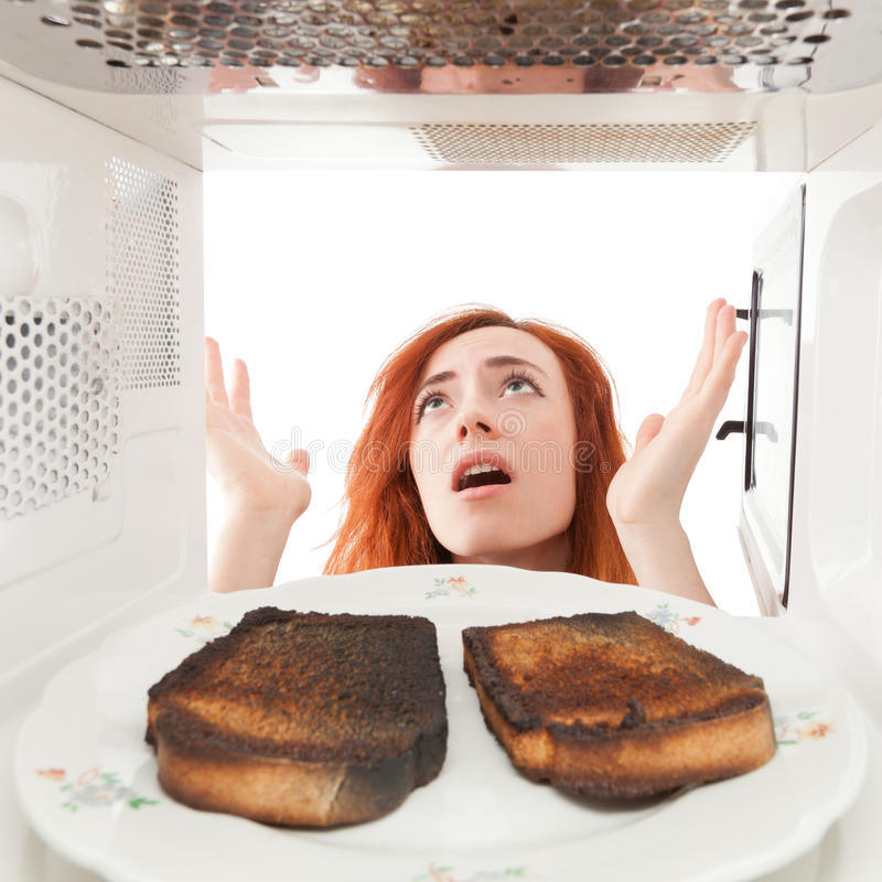 Free Burned Toasts Stock Images - 22894004