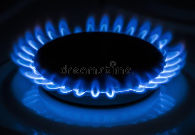 Burner gas stove royalty free stock photography