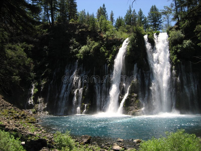 Download Burney Falls Royalty Free Stock Photos - Image: 3451438