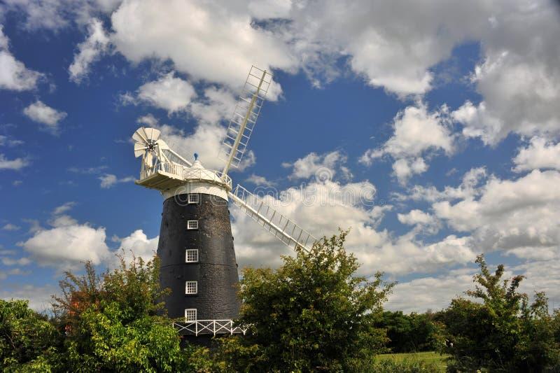 Burnham Overy Staithe Mill stock foto