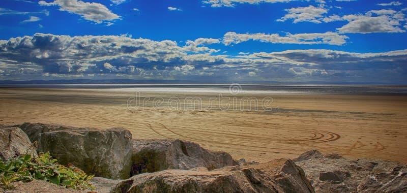 Burnham på havet, Somerset, England, Förenade kungariket arkivfoton