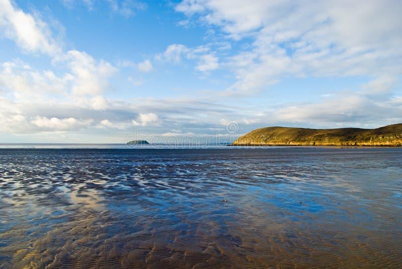 Download Burnham-on-Sea stock image. Image of coastline, lowtide - 12315637