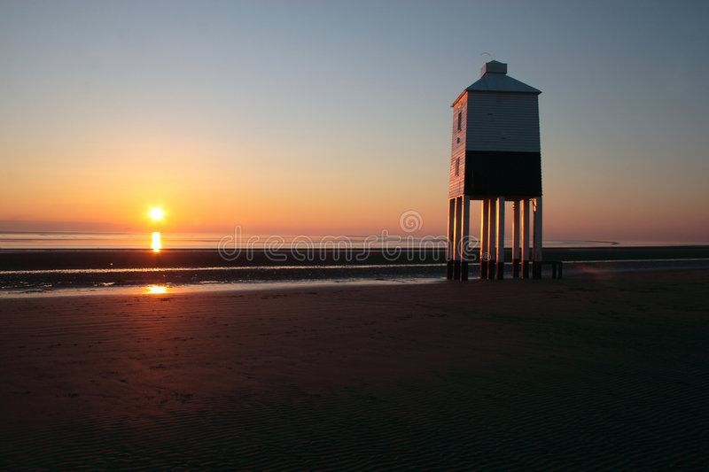 Download Burnham-on-Sea Lighthouse Royalty Free Stock Images - Image: 7913589