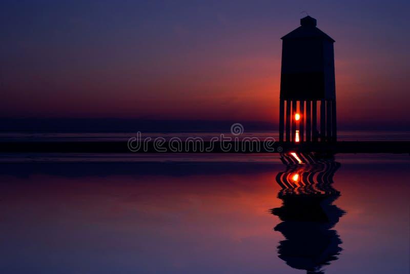 Download Burnham-on-Sea Lighthouse stock image. Image of sunset - 7950053