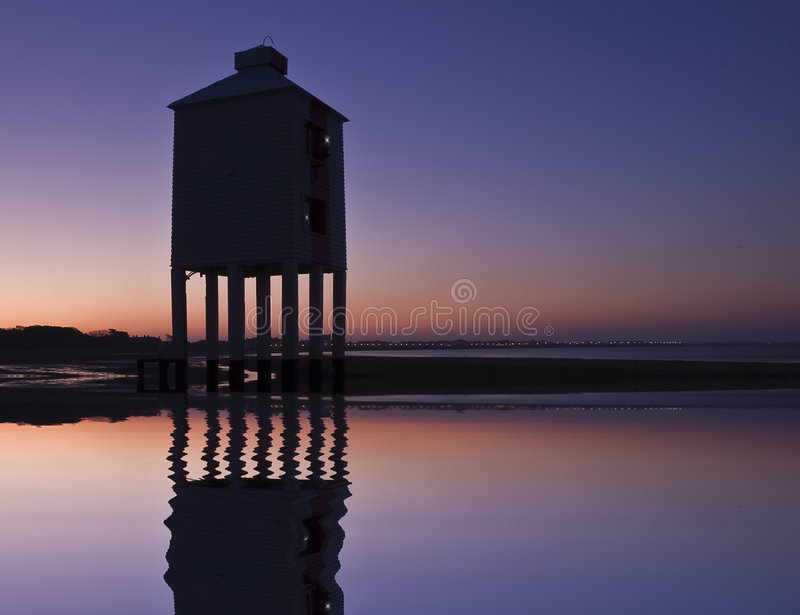 Download Burnham-on-sea Nine Leg Low Lighthouse Stock Photo - Image: 7601402