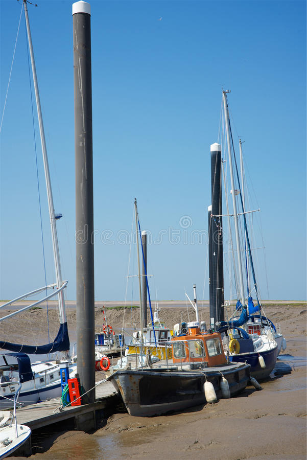 Burnham-sur-mer, Somerset, R-U images libres de droits