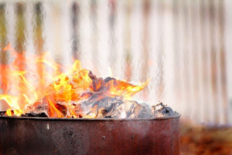 Download Burning stock photo. Image of smelting, garbage, rural - 22279352