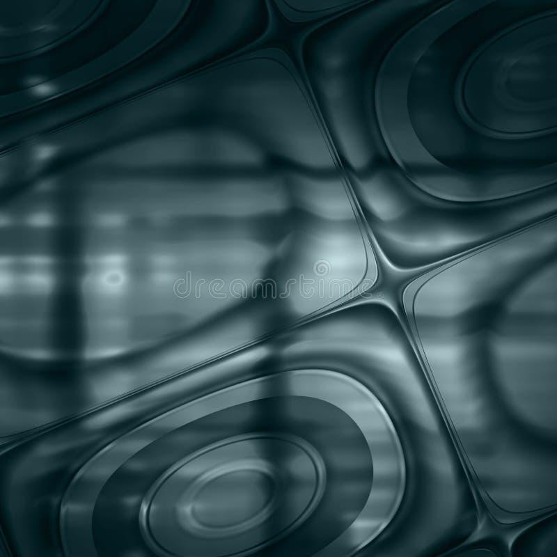 Burning azul del fondo del extracto del trullo imagen de archivo