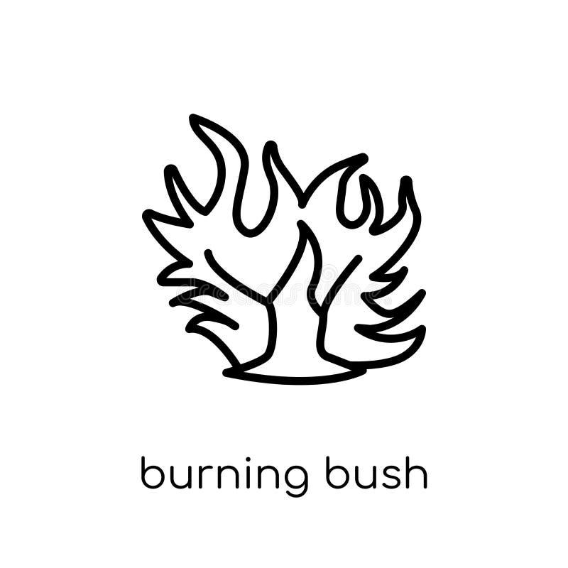 Burning Bush Bible Drawing