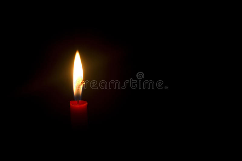 Download Burning candle stock photo. Image of peaceful, background - 16066866