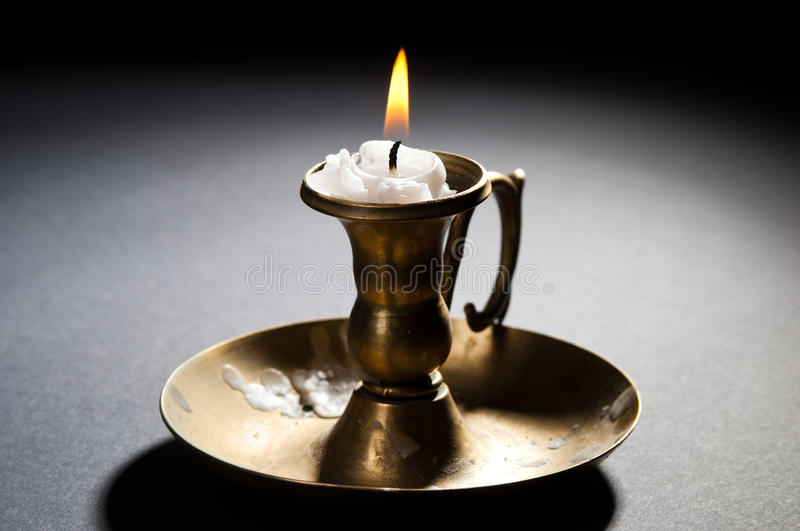 Download Burning candle stock photo. Image of golden, circle, backgrounds - 21019800