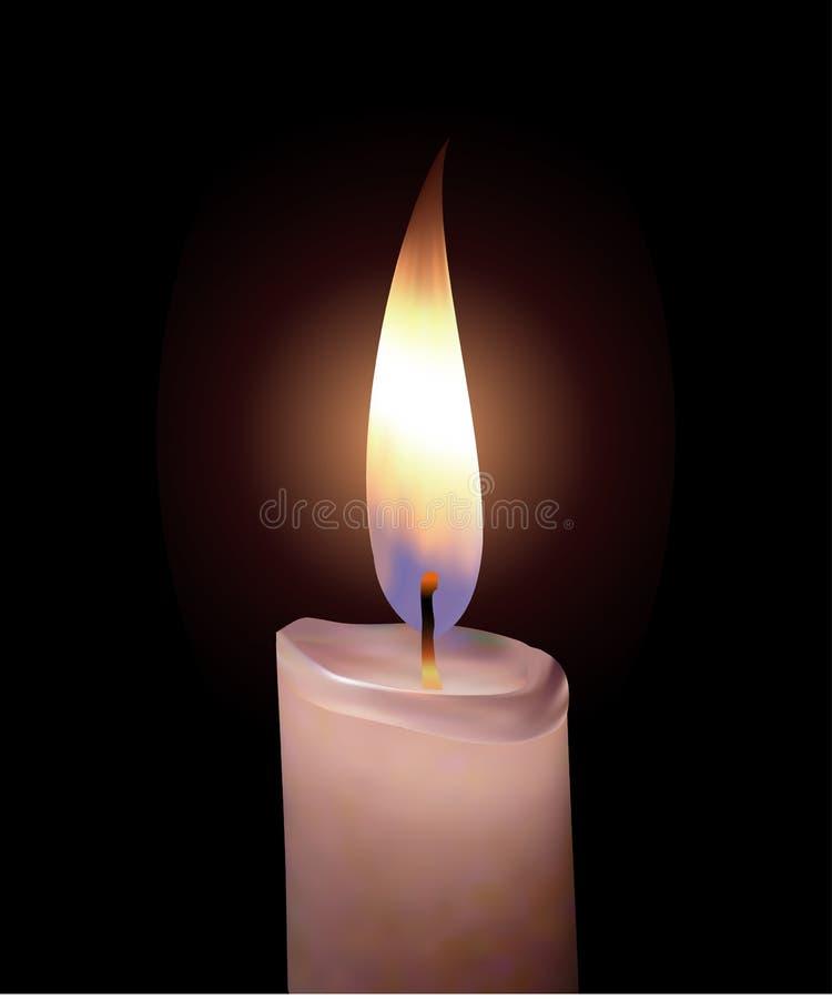 Free Burning Candle Royalty Free Stock Photo - 7533995