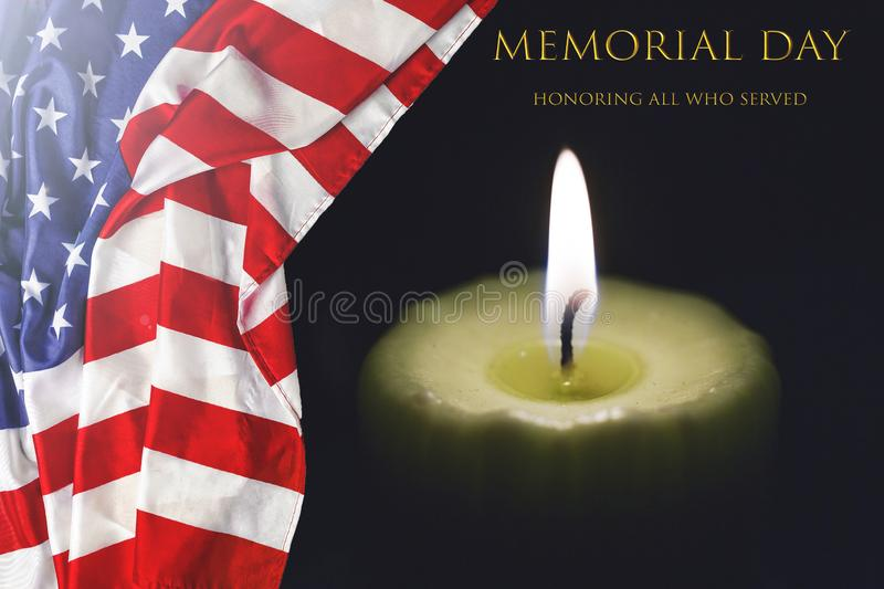 Flag, burning, candle, flame, light, symbol, american, america, day, fire, usa, Terrorism war. freedom, stock photo