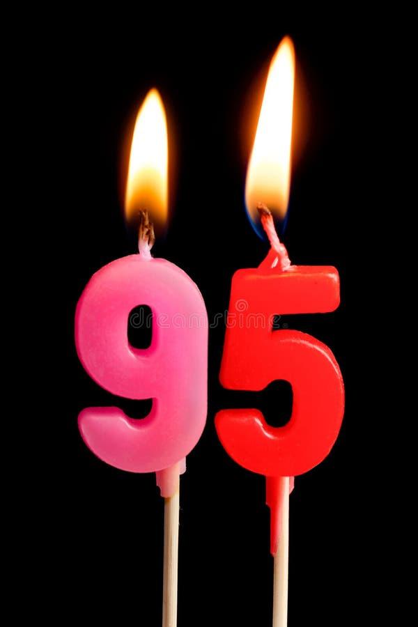 Ninety Five Years Anniversary  Birthday Cupcake With White