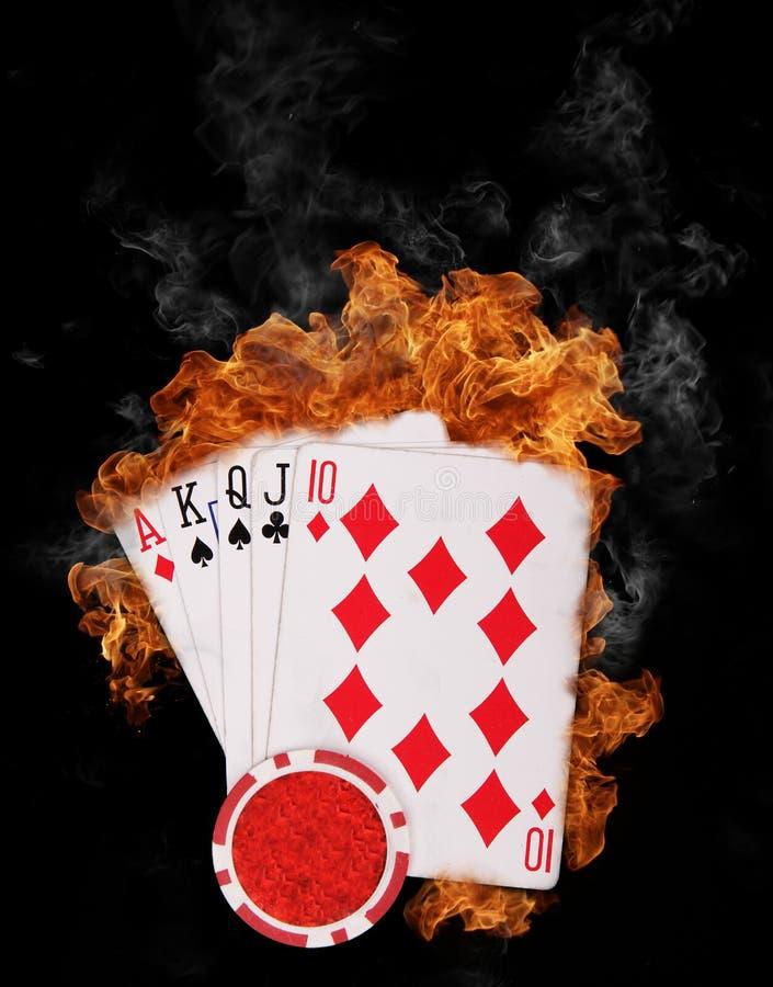 Download Burning cards stock image. Image of concept, burn, metaphor - 19883159