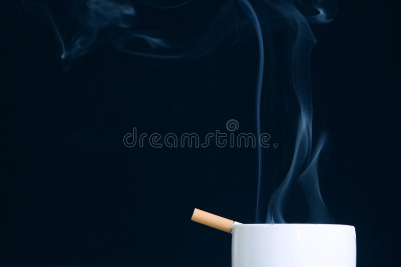Download The Burning Cigarette Stock Image - Image: 29763851