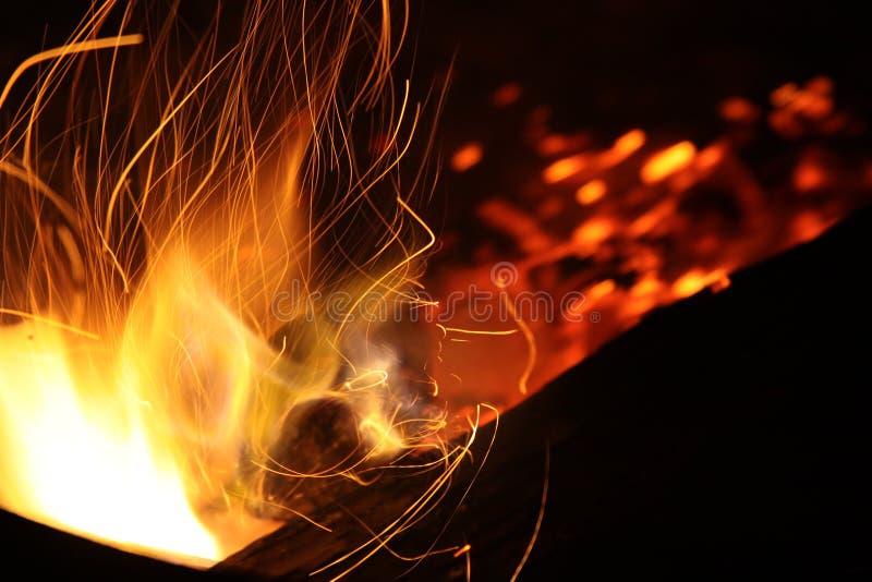 Burning Coal stock images