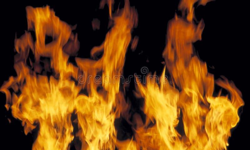 Burning d'incendie photographie stock libre de droits