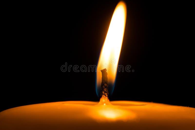 Burning de bougie photographie stock