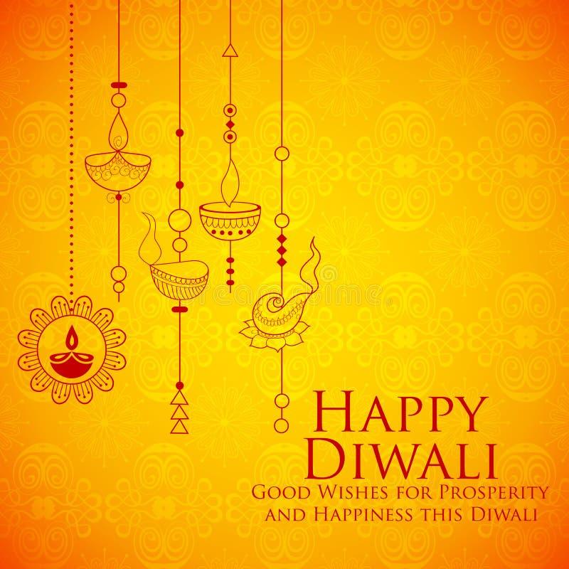 Free Burning Diya On Happy Diwali Holiday Background For Light Festival Of India Royalty Free Stock Photo - 101324425