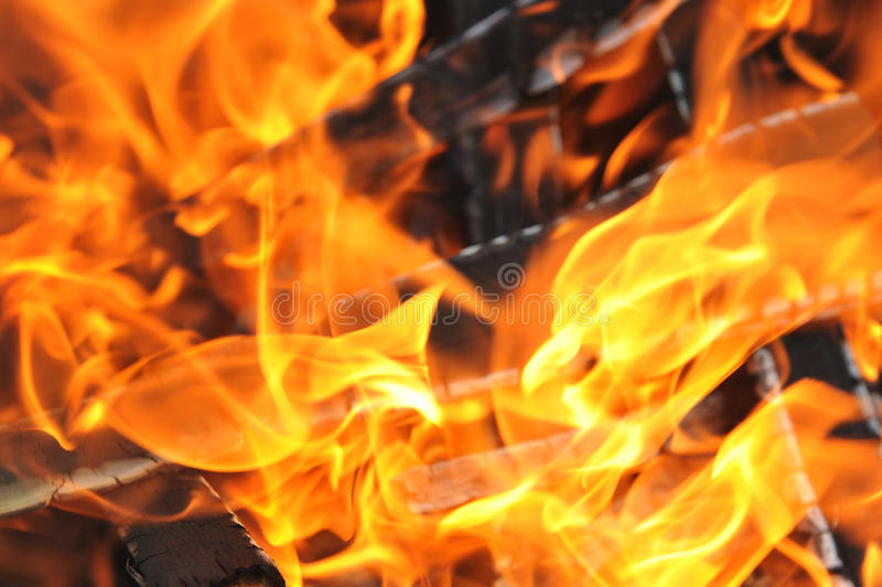 Download Burning down fire stock photo. Image of igniting, abstract - 25898260