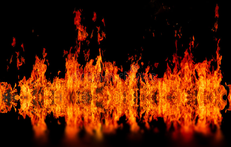 burning eldvatten royaltyfria foton