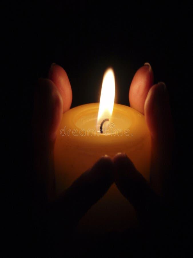 Burning Fingrar Royaltyfria Foton