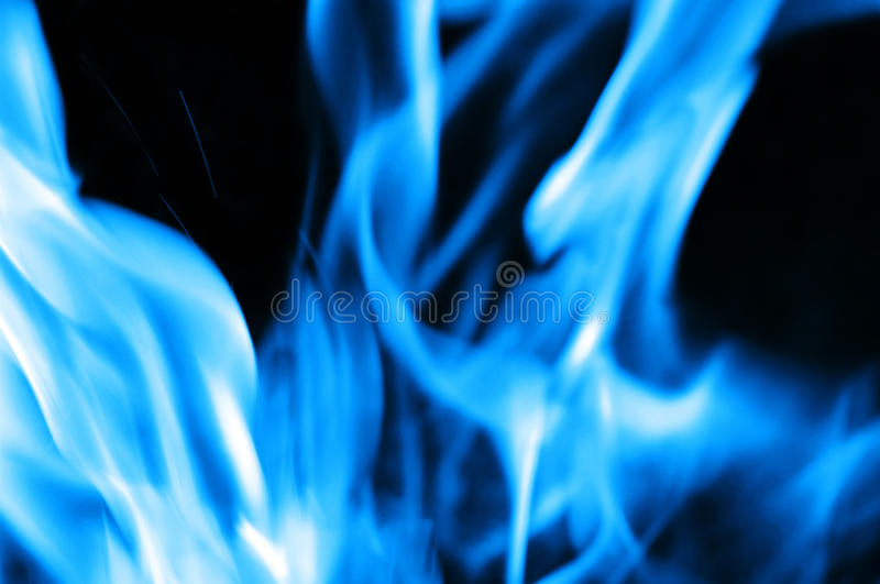 Burning fire close-up royalty free stock image