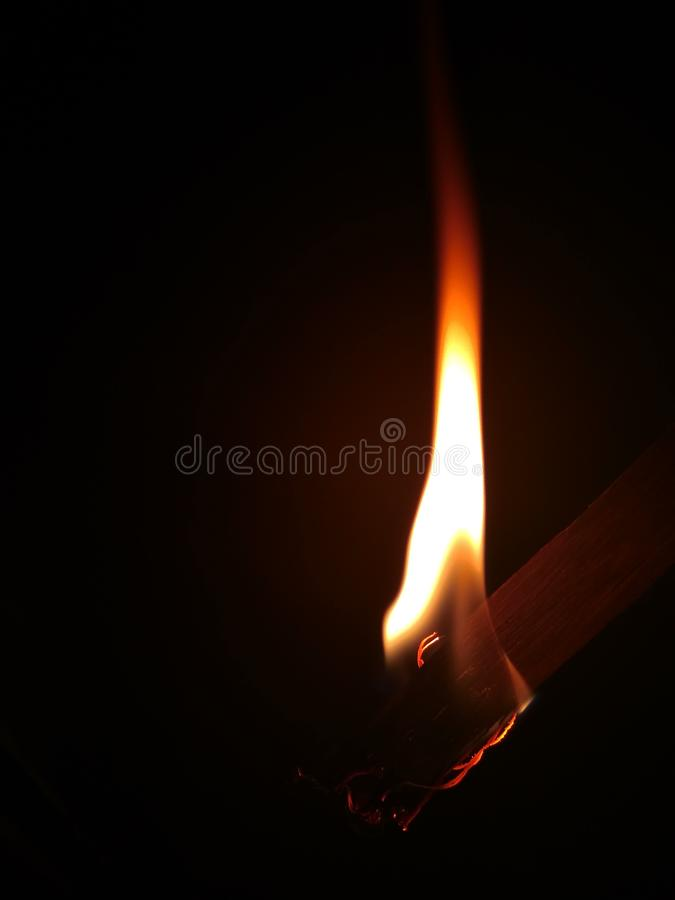 burning flames royalty free stock image