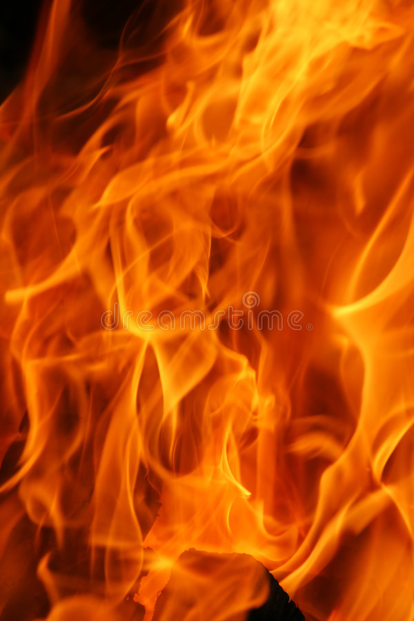 Burning Flames Texture stock images