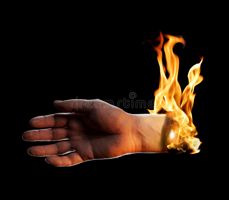 Download Burning Hand Stock Images - Image: 23743654