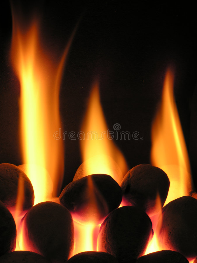 Burning hot royalty free stock image