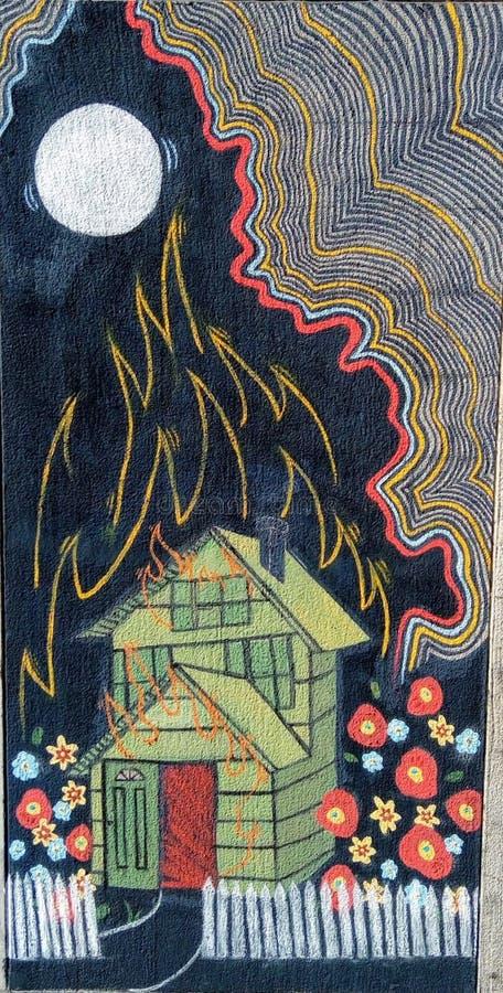 Burning House Free Public Domain Cc0 Image
