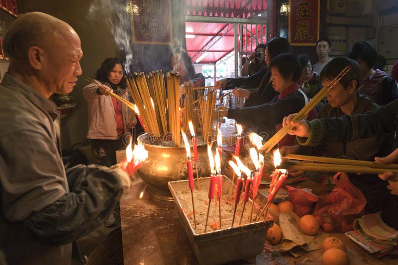 Download Burning Incense editorial photo. Image of prayer, buddhist - 24525821