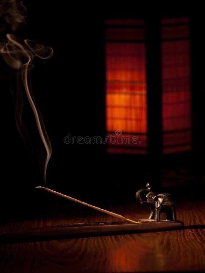Free Burning Incense Stick Stock Photos - 15374563