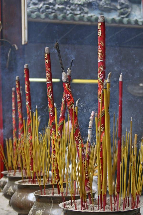 Free Burning Incense Stick Royalty Free Stock Image - 5315636