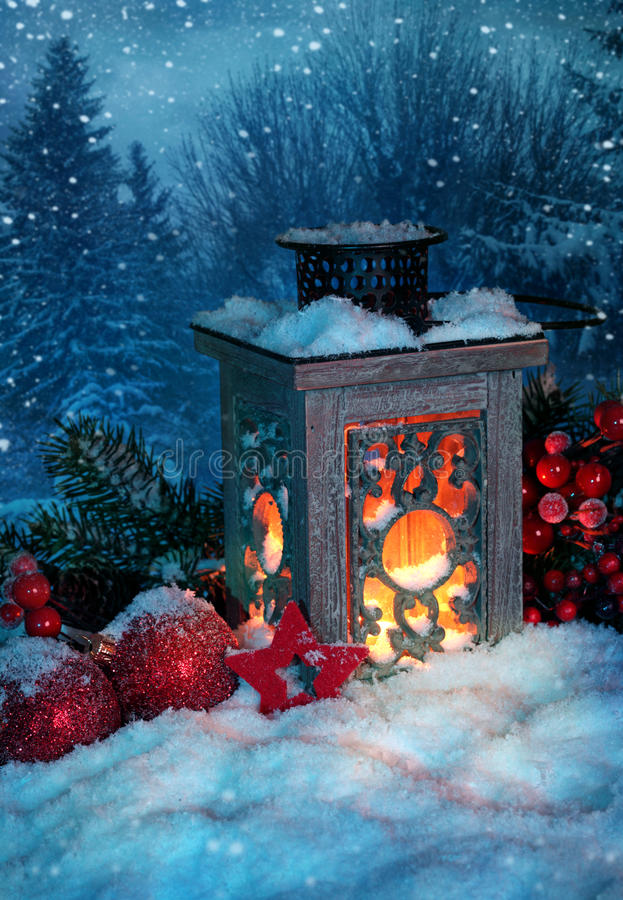 Download Burning lantern stock photo. Image of outdoor, evening - 22075676