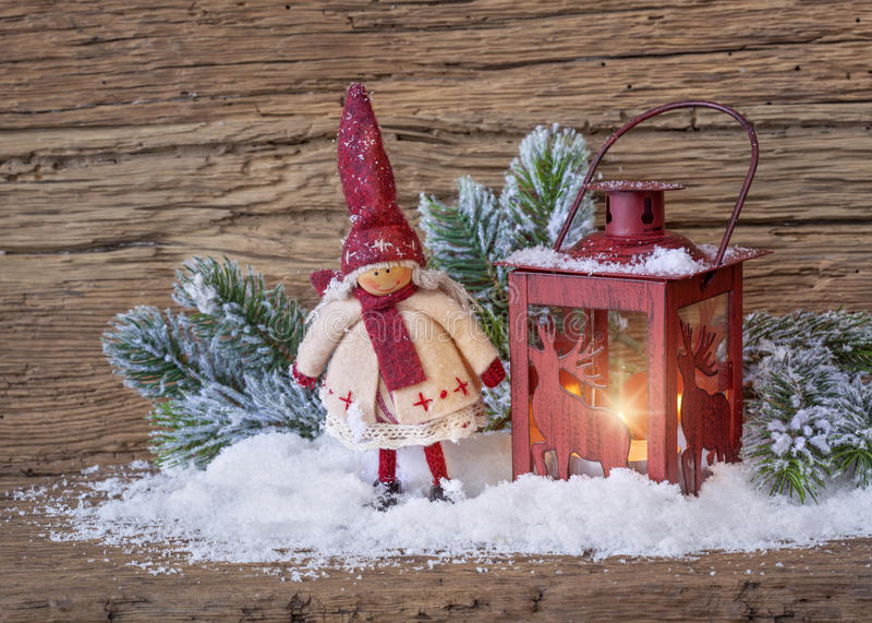 Download Burning lantern stock photo. Image of cold, snow, heart - 27041106