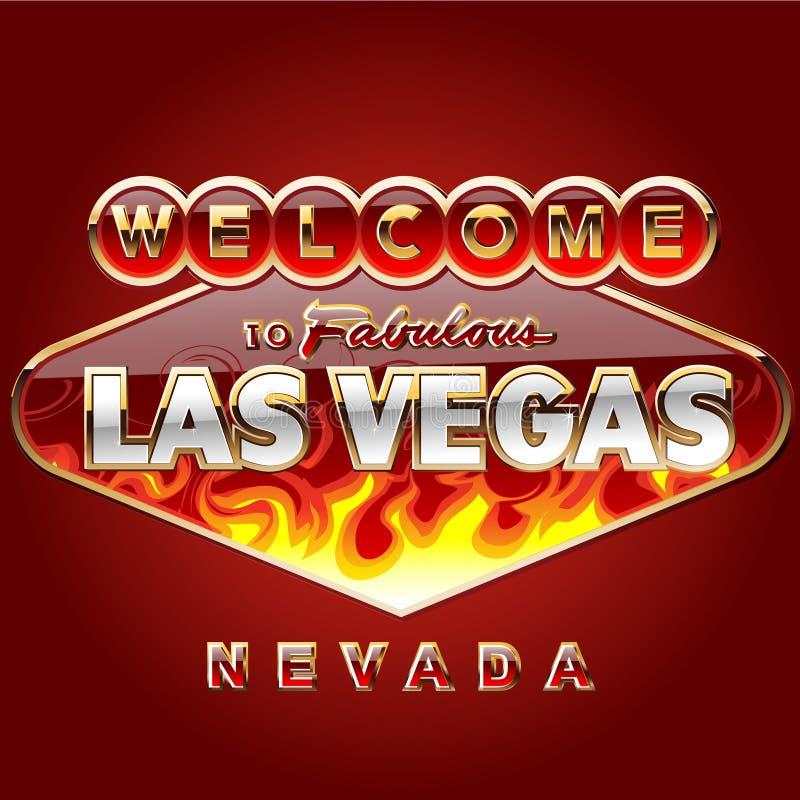 Download Burning Las Vegas Road Sign Royalty Free Stock Photography - Image: 11966247