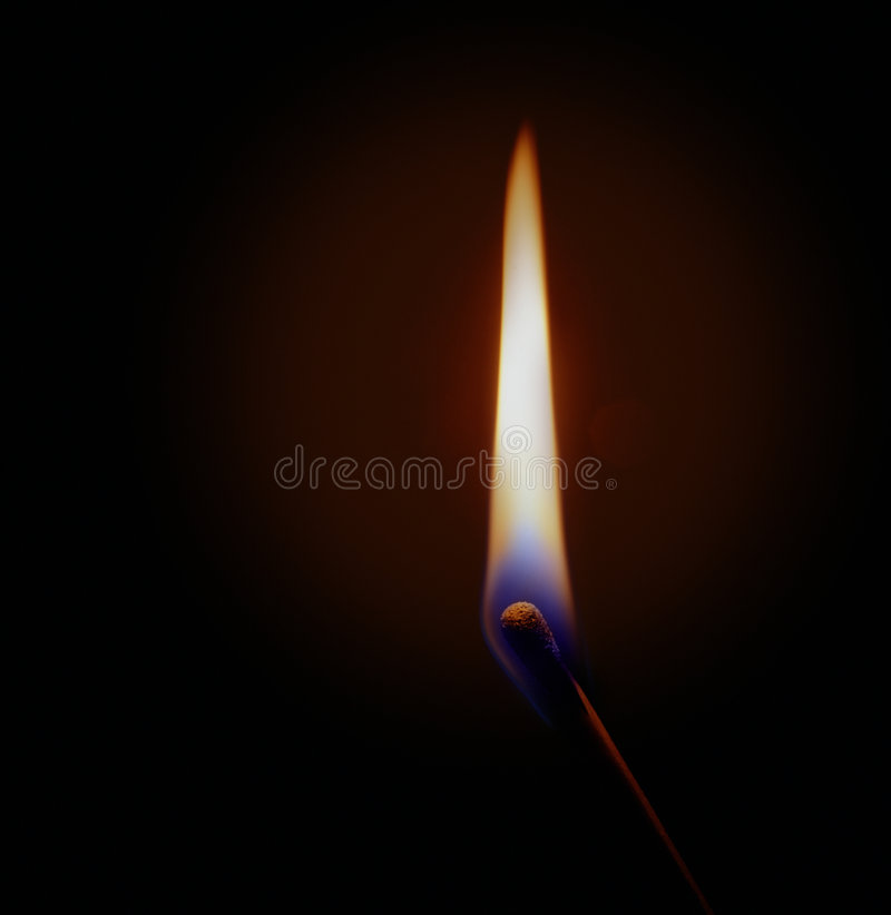 Free Burning Match Royalty Free Stock Photo - 1569685
