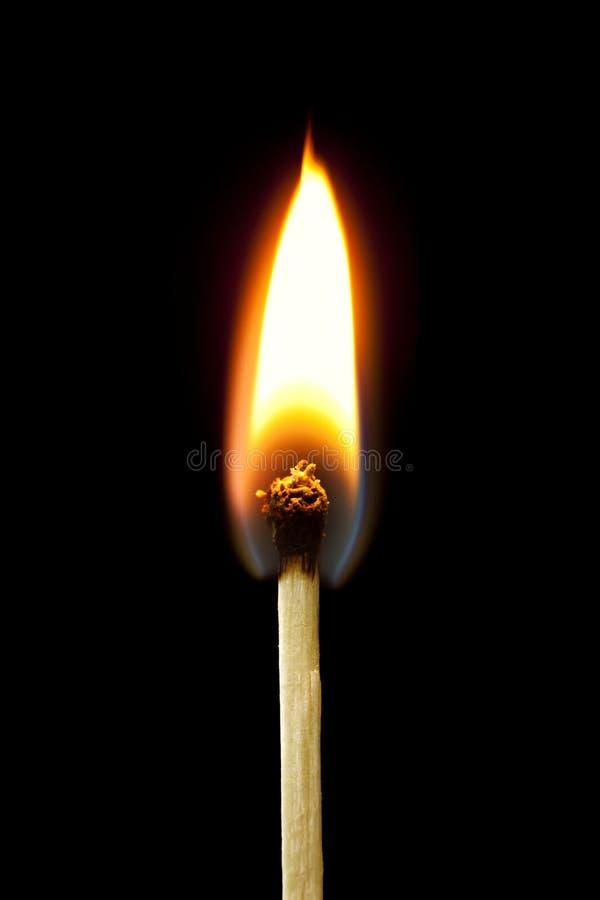 Free Burning Match Royalty Free Stock Photos - 19633638
