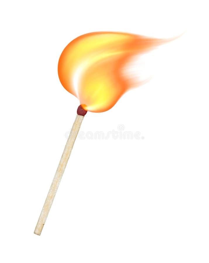 Free Burning Match Stock Photos - 20869163