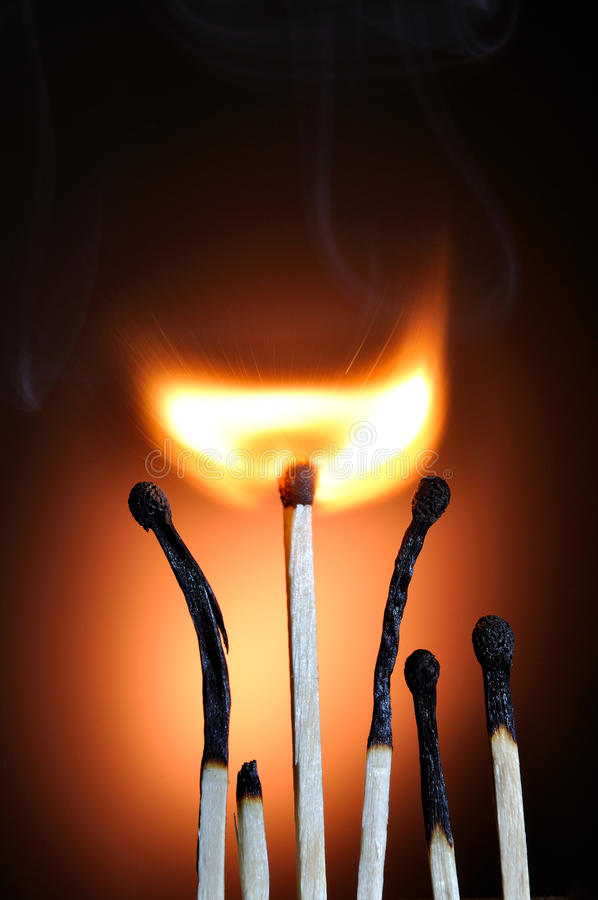 Download Burning Match stock image. Image of sequence, image, isolated - 21367813
